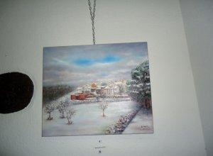 Exposición de pintura en Monsagro.