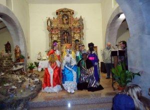 Los magos de oriente fieles a su cita con Monsagro