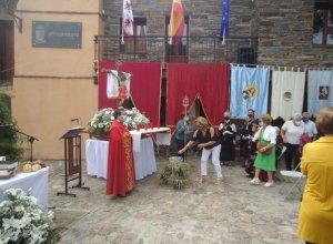Concluyen las – casi fiestas – en honor del Cristo del Amparo en Monsagro.
